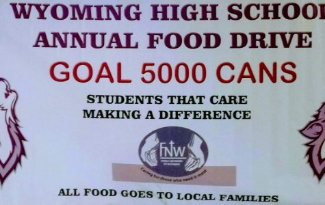 First Food Drive Information