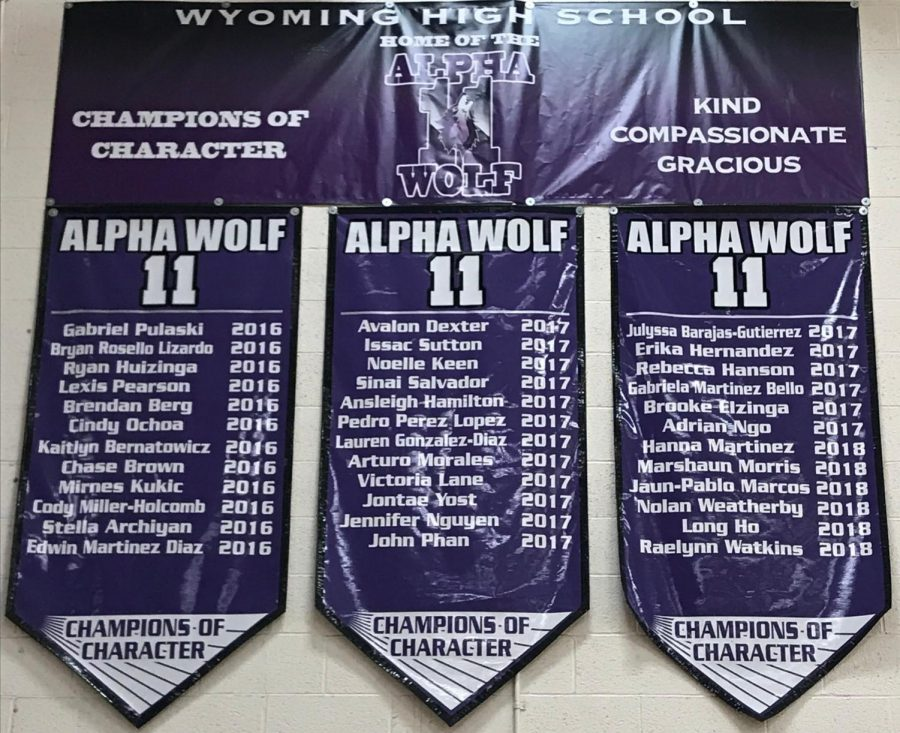 A Celebration of Character and Diversity: What's in Store for the Sophomores First Alpha Wolf 11 Assembly