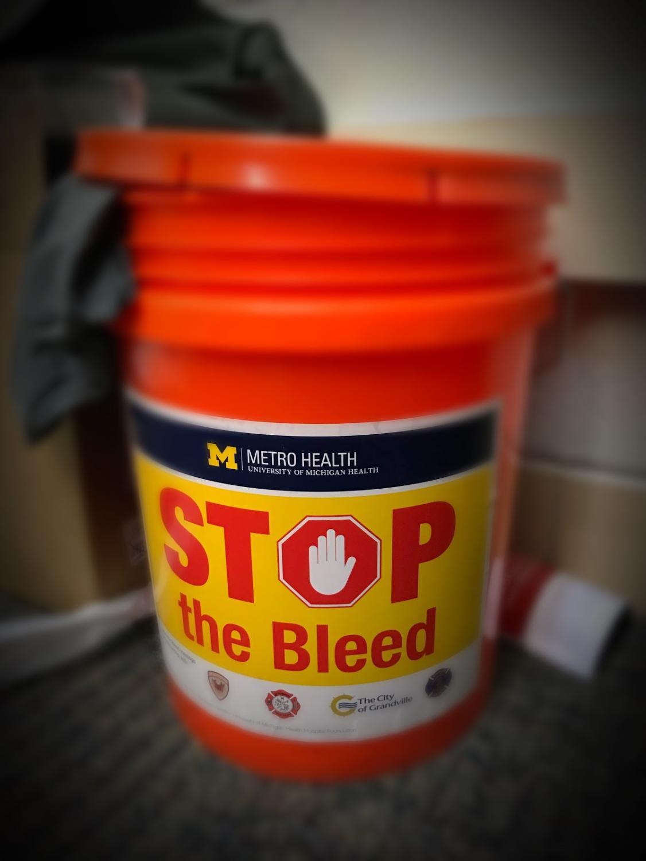 Stop the Bleed Buckets