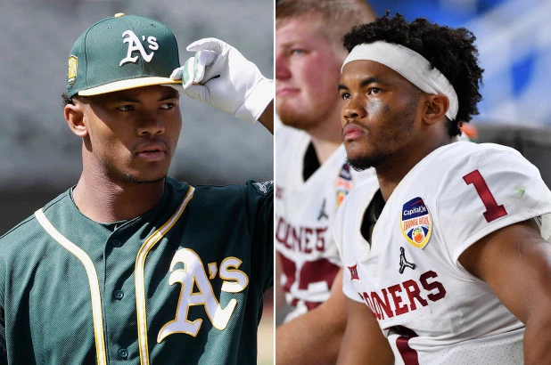 Kyler+Murray%3A+drafted+by+the+Oakland+A%C2%B4s%2C+but+loving+for+the+Oklahoma+Sooners.