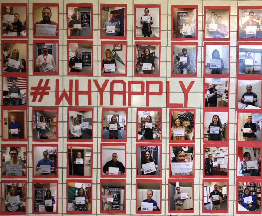 "The ""Why Apply"" Movement is Welcomed Into The Halls Of Wyoming High School"