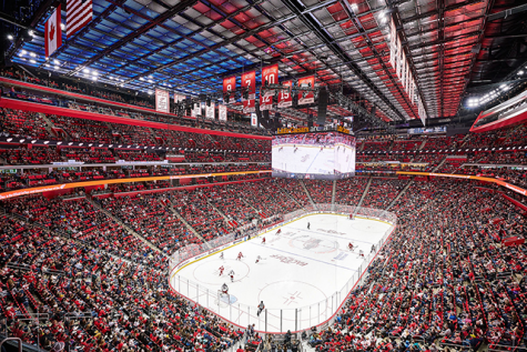 Red Wings at the Little Caesars Arena: Is it better than the Joe?