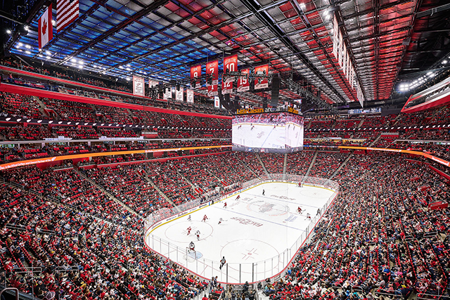 As+you+can+see%2C+this+arena+can+squeeze+in+a+whole+bunch+of+fans+to+cheer+on+the+Detroit+teams.