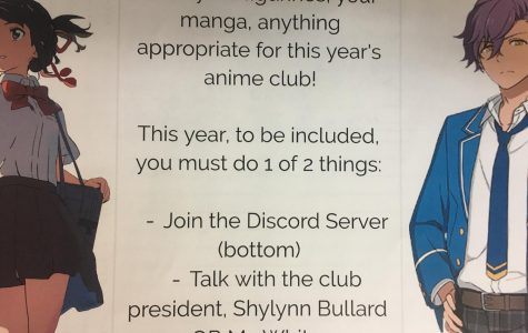 Anime Club has Officially Started