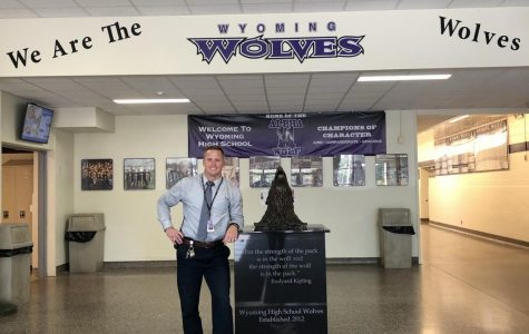 Mr. Baumbach Comes Home to WHS