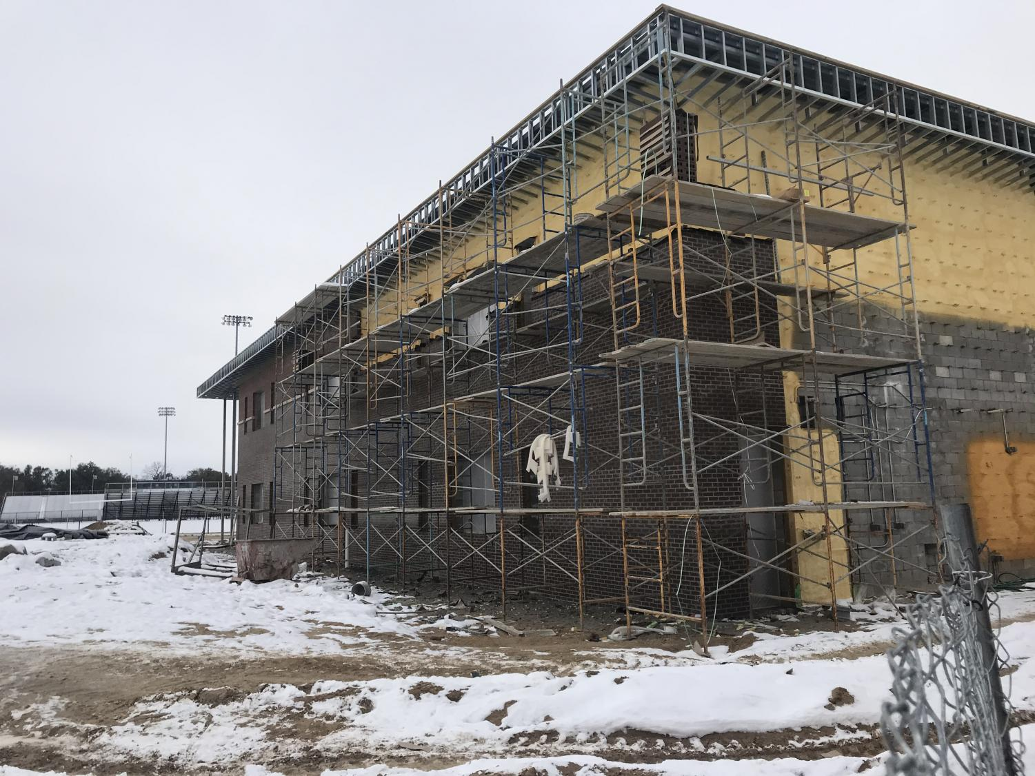The new building is expected to be finished by Fall of 2020.