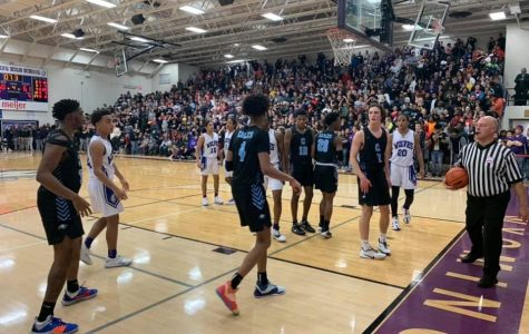 Wyoming storms back from an 18 point deficit to upset first place Grand Rapids Christian