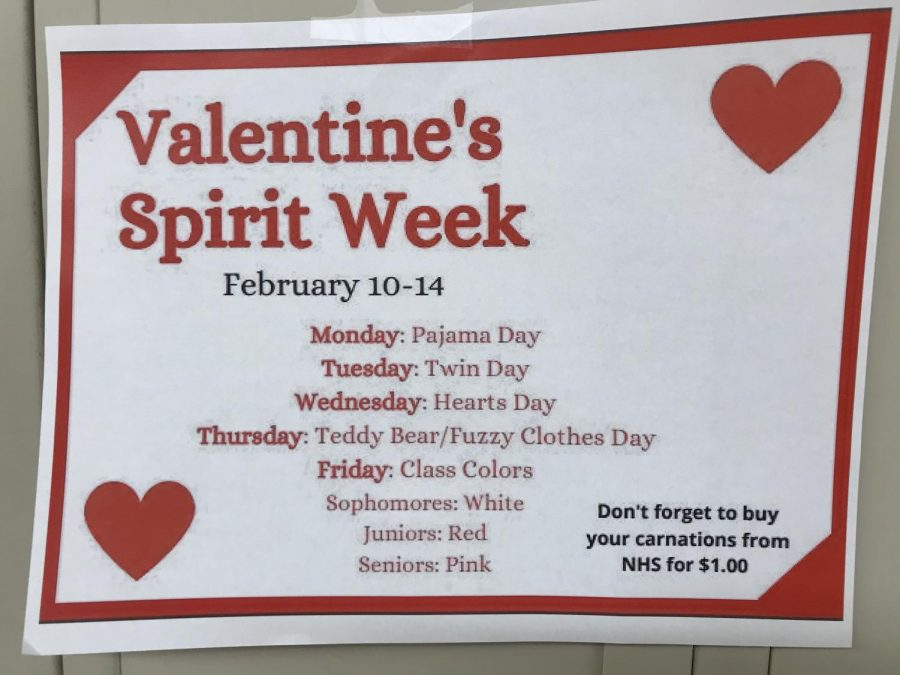 Show+Your+Spirit+for+Valentine%27s+Spirit+Week