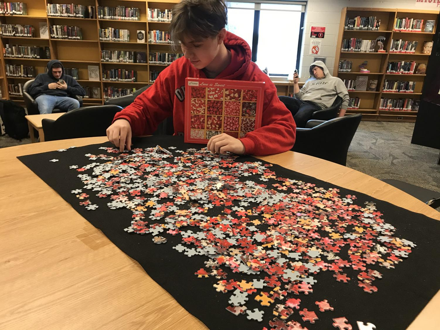 Sweet New Puzzle at the Media Center Now!