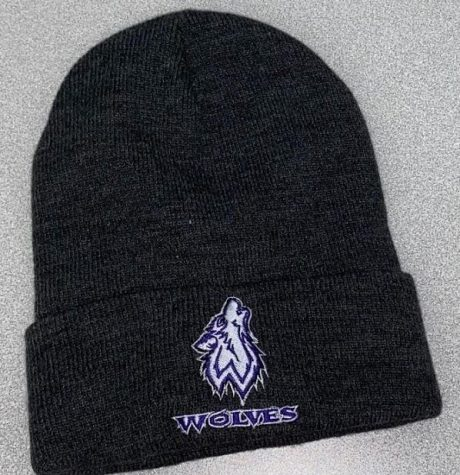 A Wolf winter hat, available now from the Wolf Den.