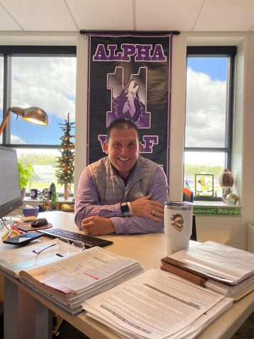 Mr. Doyle is looking forward to  the Alpha Wolf ceremonies.