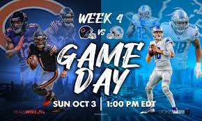 Lions play Bears and Vikings in two close NFC North games