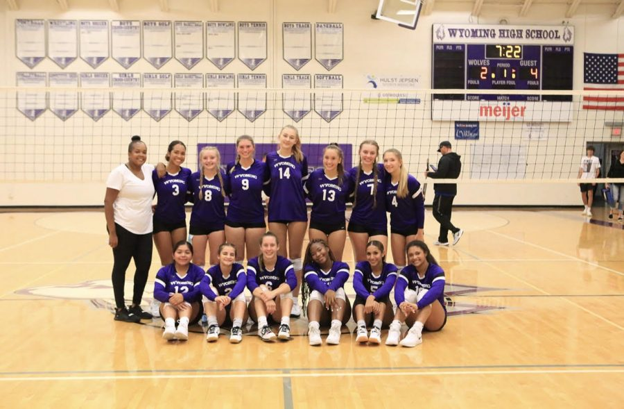 Volleyball Team is Happy to Play Again